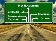 excuse behind