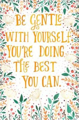 be gentle with yourself. you're doing the best you can