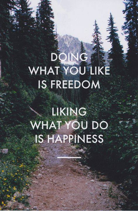 doing-liking quote
