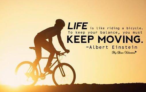 Life keep moving