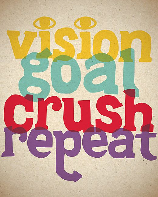 vision goal crush repeat