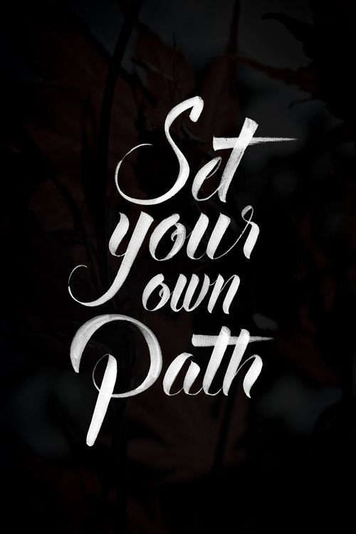 set your own path