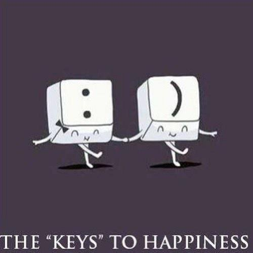 """The """"Keys"""" To Happiness"""
