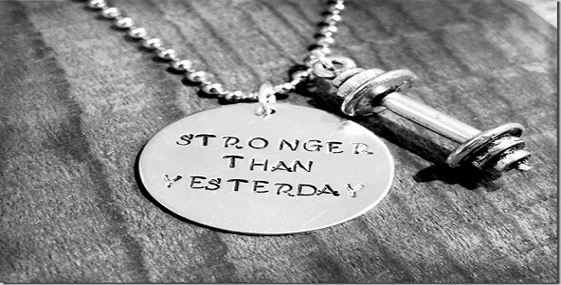 stronger each day
