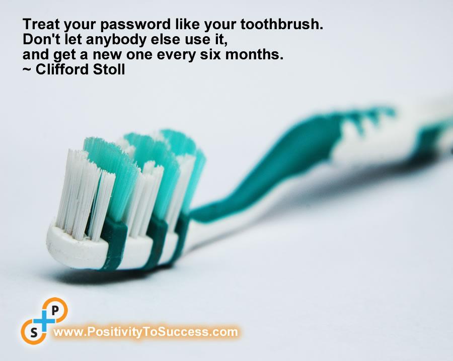 Toothbrush post