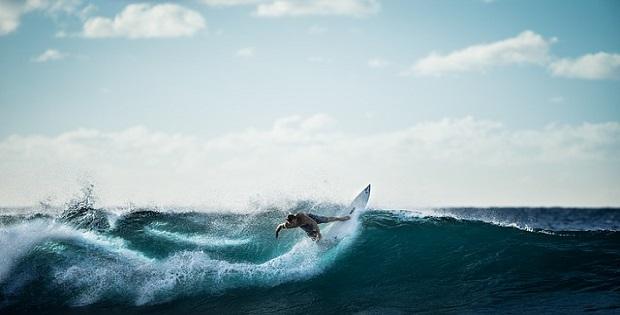 wave come