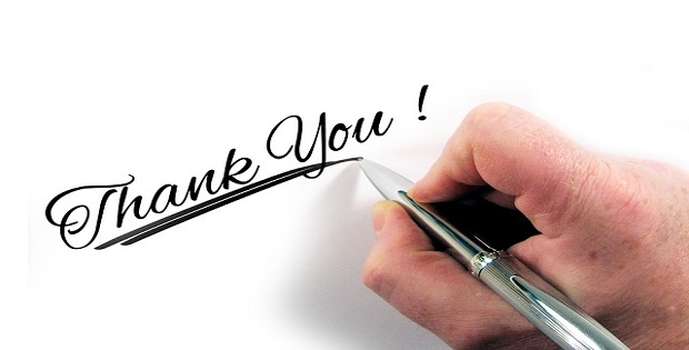 thank you show gratitude