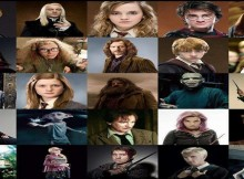 harry potter characters banner
