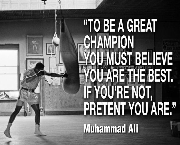 The Repetition of Affirmations Muhammad Ali